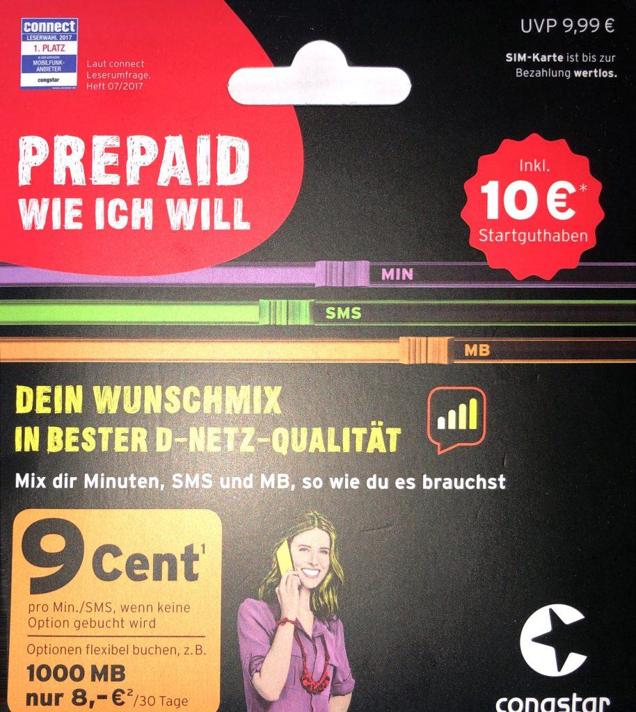 Prepaid wie ich will